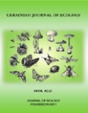 UKRAINIAN JOURNAL OF ECOLOGY